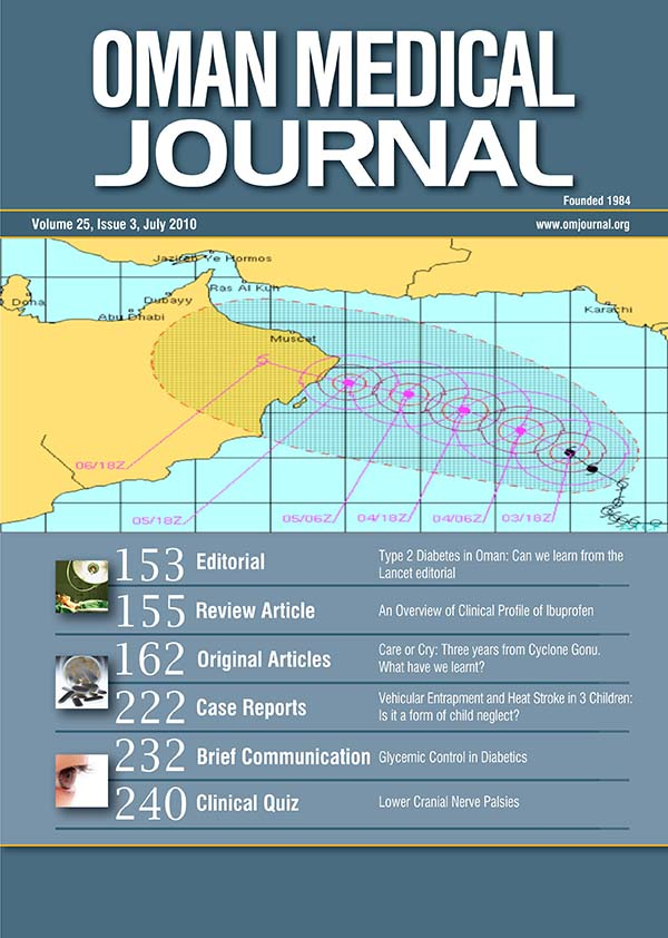 Oman Medical Journal-Archive